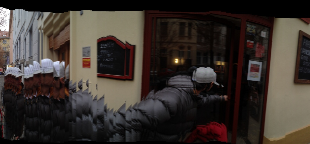 Example 4 of a panorama shot using the iphone 4s hidden panorama mode. Click image to enlarge.